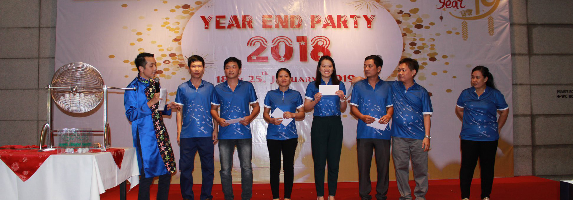 YEAR END PARTY TBC 2018